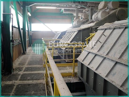 Glasfasergitterroste zum Schutz der Beschäftigten in der Bergbauindustrie