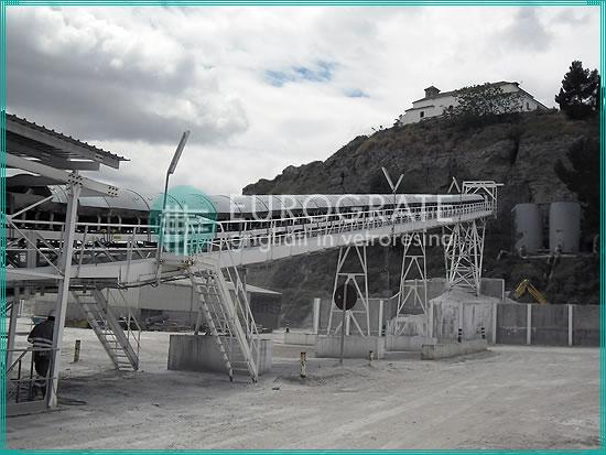 Selbsttragende Strukturen für einen besseren Materialtransport von der Mine zur Aufbereitungsanlage