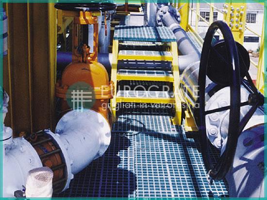 Geländer, Steigleitern und Stufen für die Schiffsbauindustrie