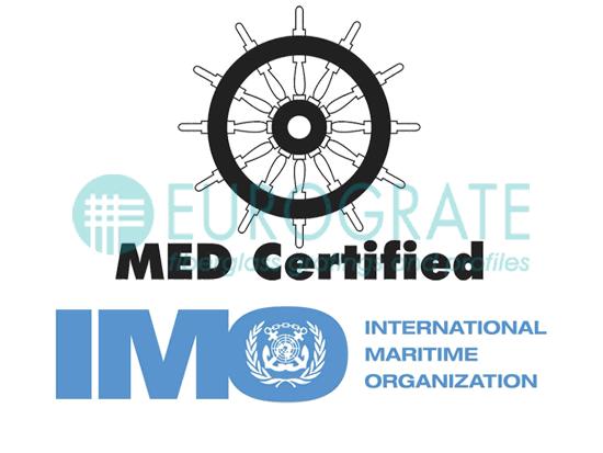 Eurograte Gitterroste IMO-konfrom Modul B und D Zertifikatsnummer: 0987