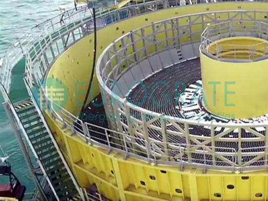 Gitterrostlaufstege und Stufen aus GFK für Anwendungen bei der Erdölförderung