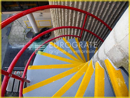 Stufenabdeckungen für Betonspindeltreppen