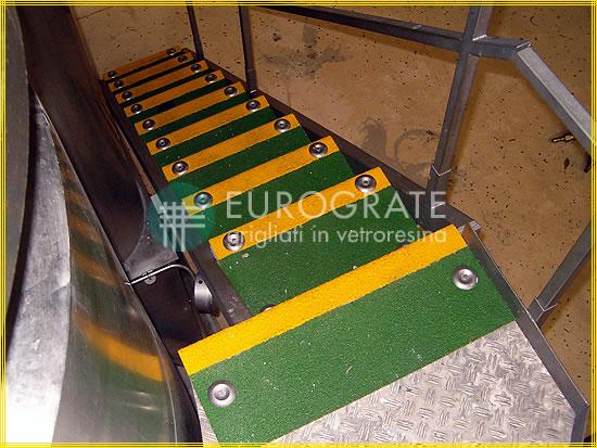 Stufenabdeckungen für die Sicherheit von Stufen in Innenräumen