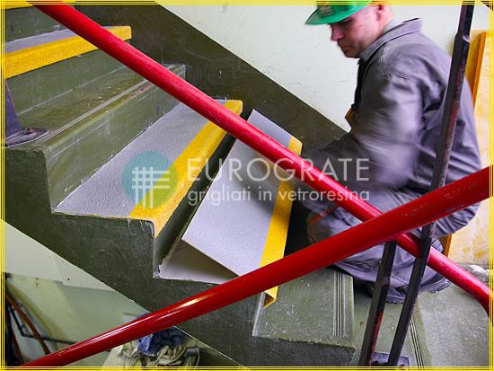 Stufenabdeckungen für Treppenstufen aus Zement