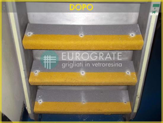Mit Stufenabdeckungen von Eurograte