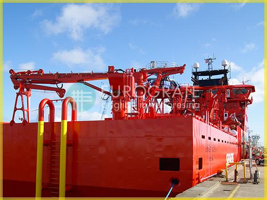 Sprossenabdeckungen für Schiffsaufgänge