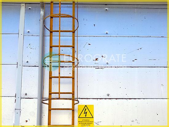 Sprossenabdeckungen für Leitern