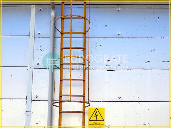 Sprossenabdeckungen aus glasfaserverstärktem Kunststoff für Steigleitern