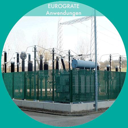 Industriezaunanlagen für die Sicherheit von Kraftwerken