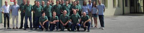 Hersteller von Gitterrosten, Zaunanlagen, Geländern und Steigleitern