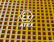 Antistatische ATEX-Gitterroste