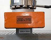 Prüfung der mechanischen Beständigkeit von Gitterrosten