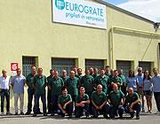 Firmensitz von Eurograte: Gitterroste, Profile, Geländer, Treppen und Zaunanlagen aus glasfaserverstärktem Kunststoff